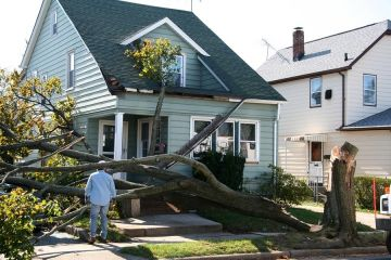 Storm damage to roof in Minneapolis by Bolechowski Construction LLC