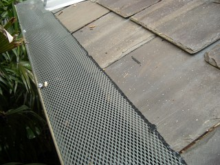 Gutter guard in Oak Grove