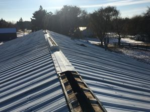 We Do Barns TOO!!! Barn Roof Installation in Minneapolis, MN (2)